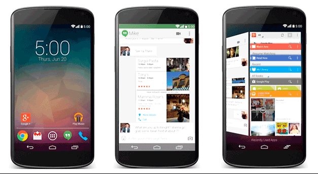 android L, one, google