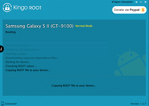 Я получил root Gresso Regal R2