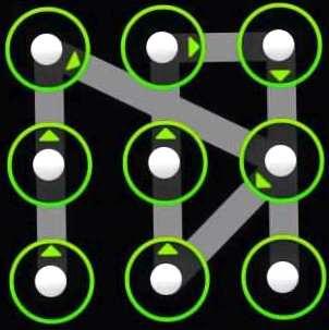 Графический ключ варианты разблокировки