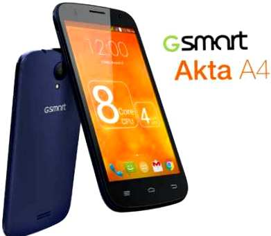 GSmart Akta A4, how to root, рут права