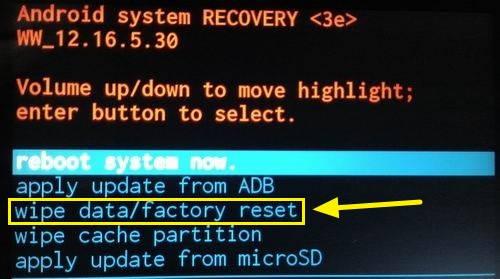 Как сделать Hard reset на Android 8 Oreo