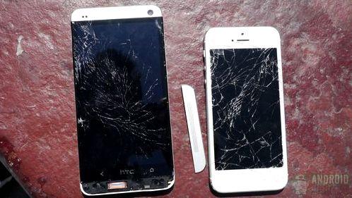 Краш тест Iphone 5s