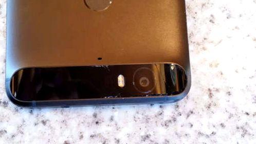 Google Nexus 6P трескается стеклянная панель