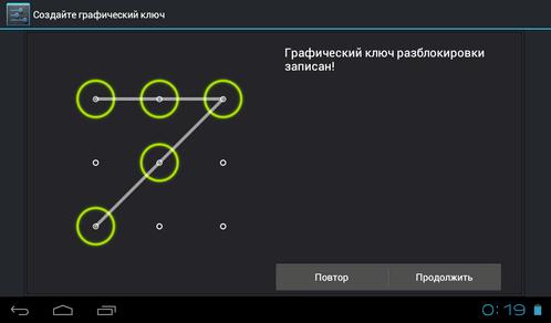 Примеры графических ключей