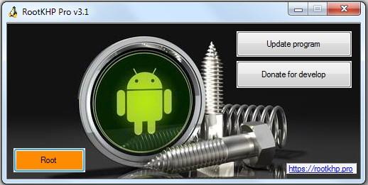 Rootkhp Pro 3.1 скачать бесплатно для Windows