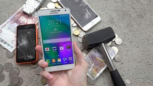 Samsung Galaxy A5 краш тест