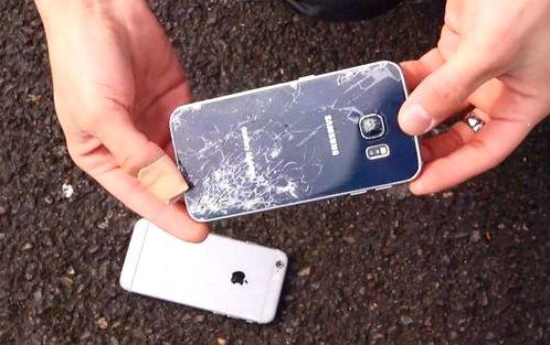 Samsung Galaxy A7 краш тест