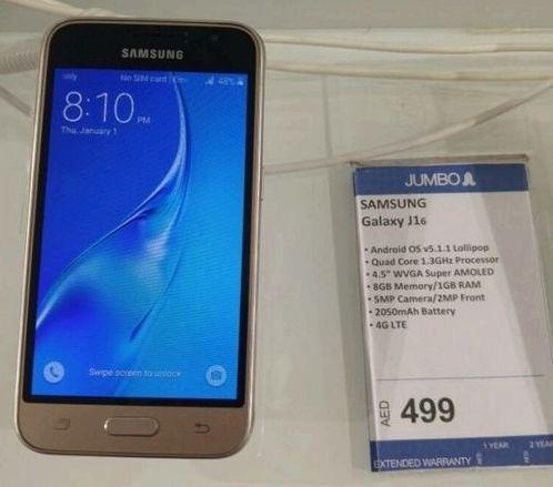Samsung Galaxy J1 Mini SM-J105F краш тест