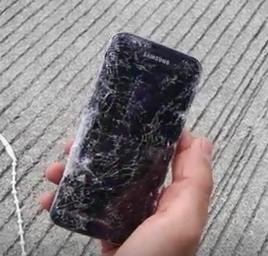 Samsung Galaxy S7 Edge краш тест