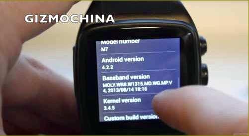 iMacwear M7, обзор, часы, смартфон