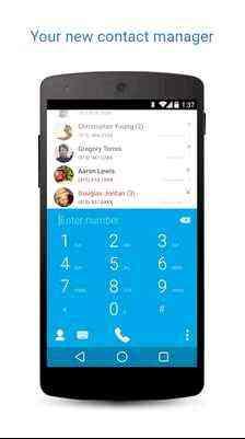 Truedialer, телефонная книга, Android
