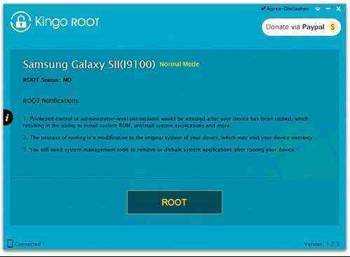 Obtaining root LG K5 X220ds