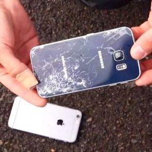 Жёсткие краш тесты смартфонов